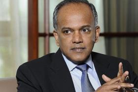 Law Minister K. Shanmugam