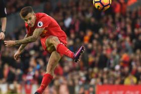 REDS' FILLIP: Philippe Coutinho, who has been instrumental in the Reds' rise up the table, might be rested today after returning from international duty.