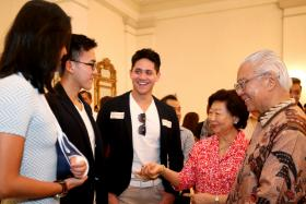 He has a packed schedule but Joseph Schooling is glad that he is able to give back.