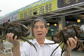 ICONIC: Mr Ting Choon Teng , founder of Ponggol Seafood.