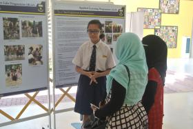 PREVIEW: A Beatty Secondary School student at the open house talks about the school's programmes and achievements.
