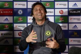 Chelsea boss Antonio Conte has plenty of reason to smile despite a tough match this week against Manchester City.