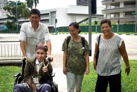 Thai teen is ready to go home