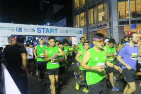Participants at the Standard Chartered Marathon Singapore this year.