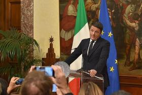 Italian PM steps down after referendum defeat