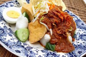 Kupat tahu dish by Hed Chef Hedy Khoo.