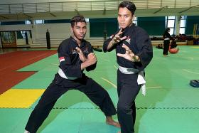 Silat duo carry Singapore's hopes