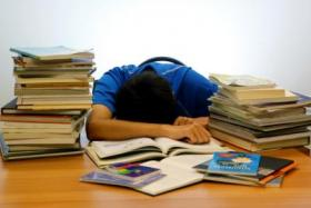 Students can drown in the sea of information they are meant to absorb.