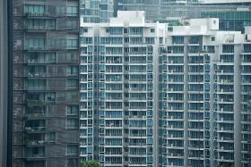 Overall prices for condominiums and apartments edged up just 0.1 per cent.