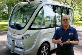 NTU to roll out driverless shuttle
