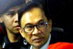 Anwar Ibrahim said he will discuss his next course of action with his legal team.
