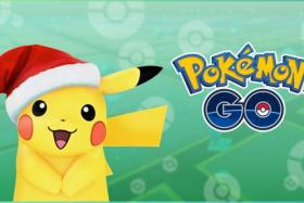 Holiday Pikachu.