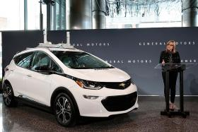 GM to test, produce self-driving cars