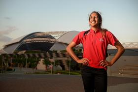 Sky's the limit for Shanti