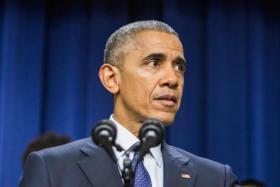 Outgoing US President Barack Obama