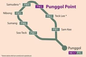 Punggol Point LRT station opens on Dec 29