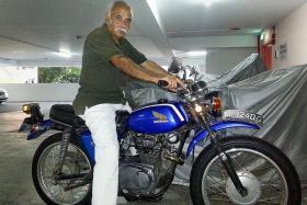 Restored bike rekindles memories
