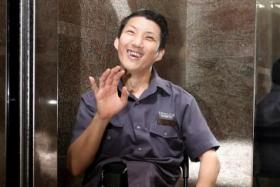 Mr Tay Kheng Chuan has been a lift operator with Wheelock Properties for 23 years.
