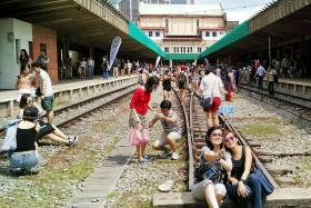 Farewell to Tanjong Pagar station