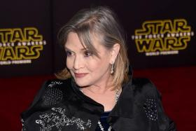 Carrie Fisher.