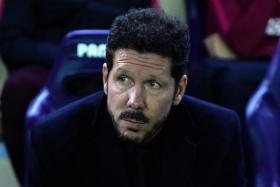 Diego Simeone's deal at Atletico Madrid finishesin 2018.