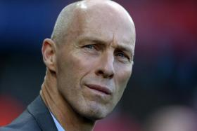 Swansea City's US manager Bob Bradley arriving for the English Premier League football match against Watford  on October 22, 2016