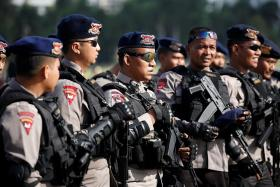 Region's police on their guard