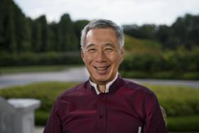 PM Lee's New Year greetings to Singaporeans