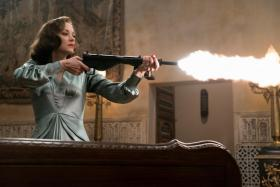 Marion Cotillard stars as a French resistance fighter in Allied.