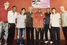A true diehard of Singapore football