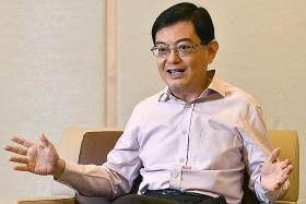 Finance Minister Heng Swee Keat 