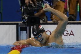 Joseph Schooling's swim listed in the Top 10