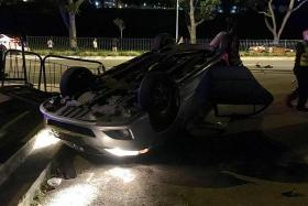 Four injured in two-vehicle collision