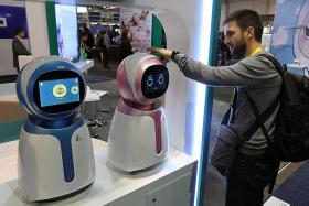 These robots are child's play