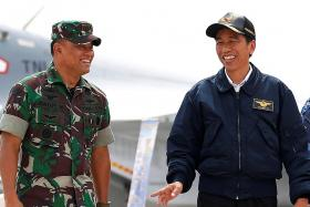 Jokowi 'warns general who 
