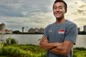 Swimmer Quah Zheng Wen will leave for the University of California, Berkeley on Jan 12 to study and train