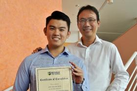 SkillsFuture diploma grad didn't let mistakes hamper him from learning on the job