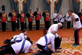 Thai Parliament approves new king's constitution changes
