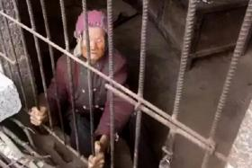 Online fury over woman, 92, 'kept' in pigsty