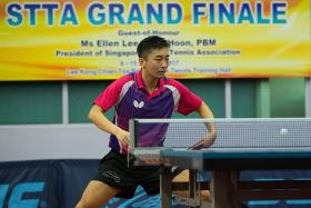Yang Zi crowned men's singles champion