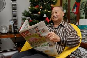 Seah was taken to the hospital in July last year for shingles and diarrhoea and remained there till his death.