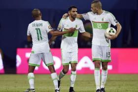 Mahrez comes to Algeria's rescue