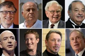 Eight richest people in the world