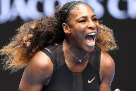 Sizzling start for Serena