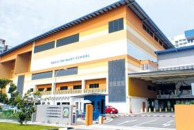 Oasis Primary School, located in Edgefield Plains in Punggol.