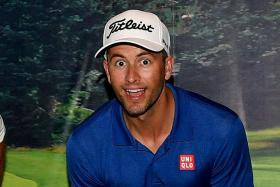 World No. 7 Adam Scott (above) is the favourite for the SMBC Singapore Open.