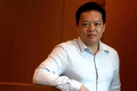 Mr Seah Seng Choon handed the baton to new Case executive director Loy York Jiun (above) on Jan 1.