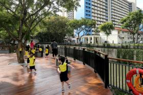 Kallang River area revitalised with viewing decks and 'rain gardens'