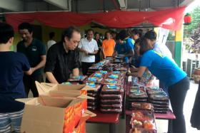 Singapore Kindness Movement Food Truck at Kranji Lodge 1.