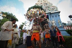 More music along Thaipusam route this year
